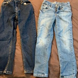 Boys Jeans Size 5 By Wonder Nation and Sonoma